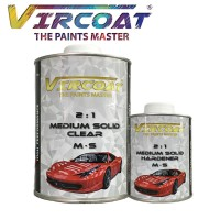 VIRCOAT 2:1 Medium Solid Clear & Harderner/ Auto refinishing clear coat