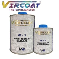 VIRCOAT 2:1 High Solid Clear & Hardener V6