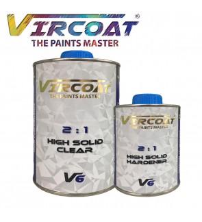 VIRCOAT 2:1 High Solid Clear & Hardener V6