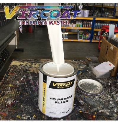 VIRCOAT High Solid 2K Primer White/ Grey/ Black