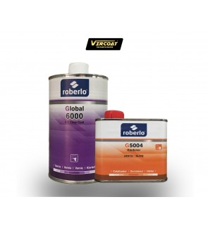 ROBERLO GLOBAL 6000 2:1 CLEARCOAT & G5004 HARDENER