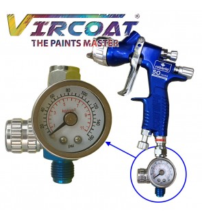 Spray Gun Air Regulator with Pressure Gauge and Diaphragm Control/ Air Flow Gauge Regulator/ Air Valve