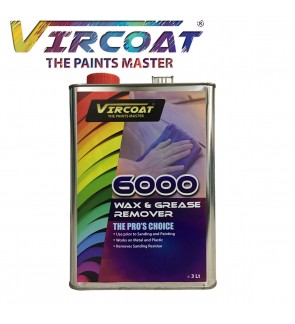 VIRCOAT 6000 Wax & Grease Remover 3Ltr
