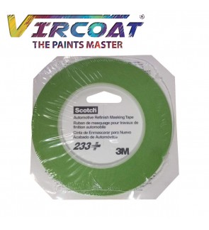3M Scotch 3mm and 6 mm x 55 m 26343/ 26344  233+ Performance Masking Tape
