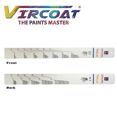 Paint Mixing Ruler/ Car Paint Measuring Scale Mixing Ruler