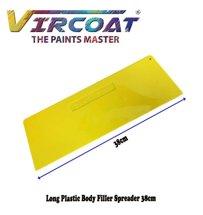 Long Plastic Body Filler Spreader/ Body Filler Spreaders for Automotive Body Fillers, Putties and Glazes 38cm