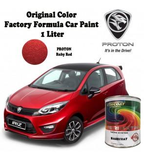 Vircoat Automotive Paint Basecoat/ Car Motor Body Paint- Proton Ruby Red 1 Ltr